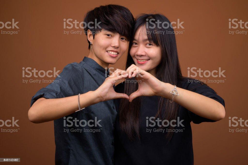 Adult asian lesbians