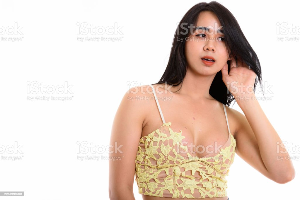 Big cum another transgendered asian woman that