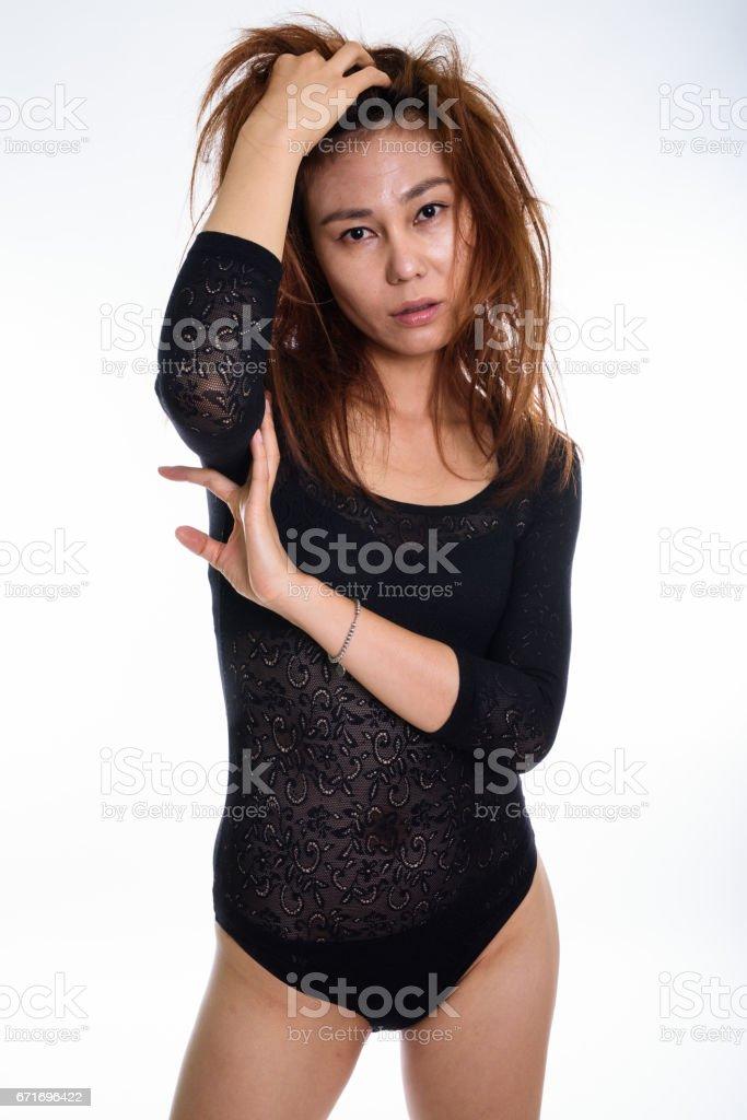 Mädchen ohne unterwäsche