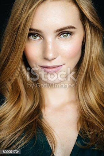 611310330istockphoto Studio shot of young beautiful woman 609091704