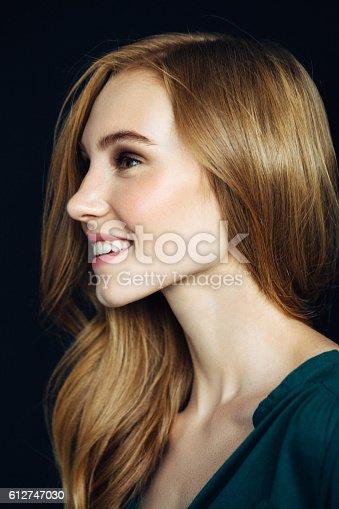 611310330istockphoto Studio shot of young beautiful woman 612747030