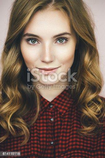 611310330istockphoto Studio shot of young beautiful woman 614115118