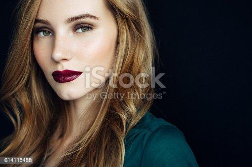611310330istockphoto Studio shot of young beautiful woman 614115488
