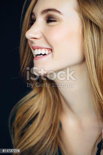 611310330istockphoto Studio shot of young beautiful woman 614737276