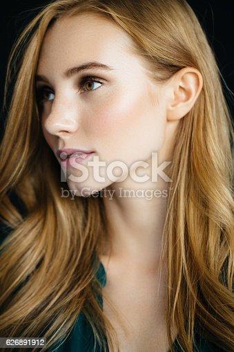 611310330istockphoto Studio shot of young beautiful woman 626891912