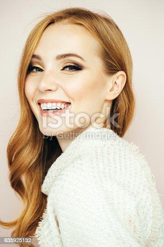 611310330istockphoto Studio shot of young beautiful woman 635925132