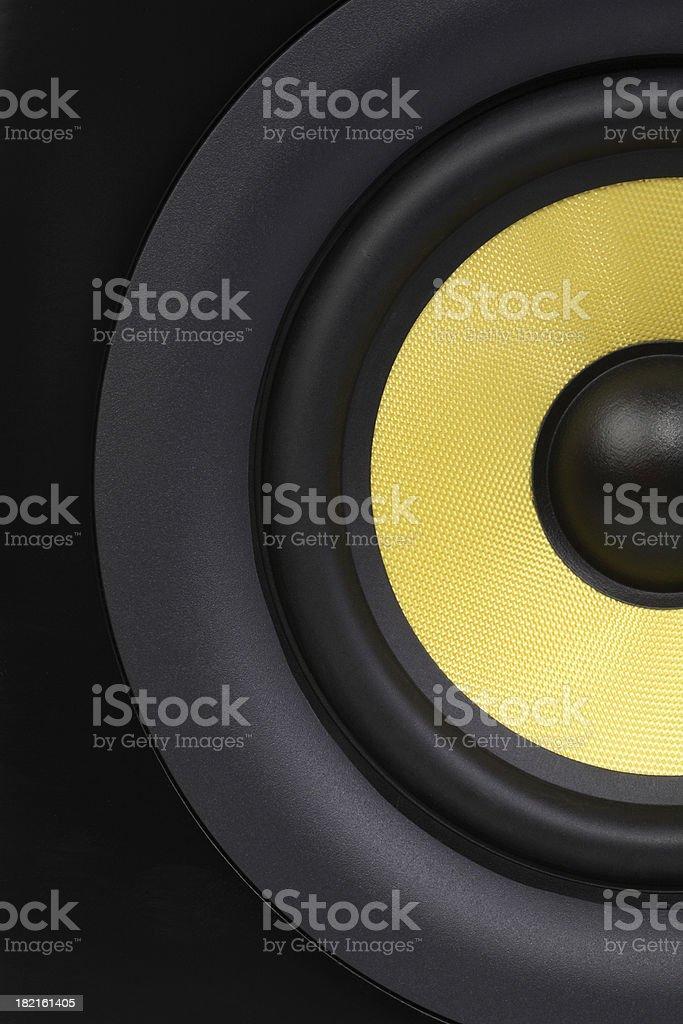 Studio Speaker royalty-free stock photo
