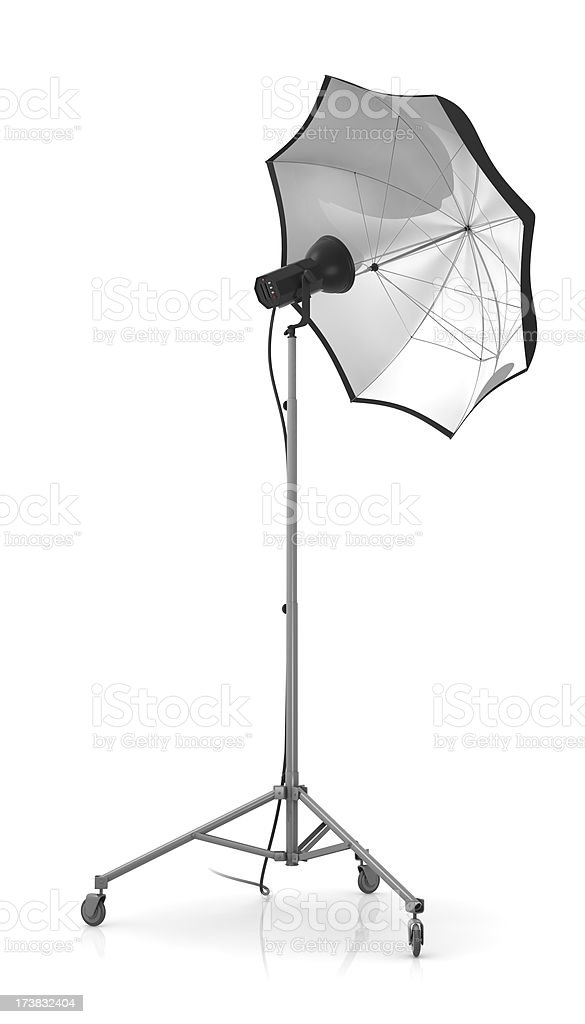 Studio strobe light royalty-free stock photo