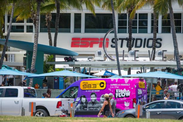 ESPN Studios at The Clevelander Miami Beach Ocean Drive