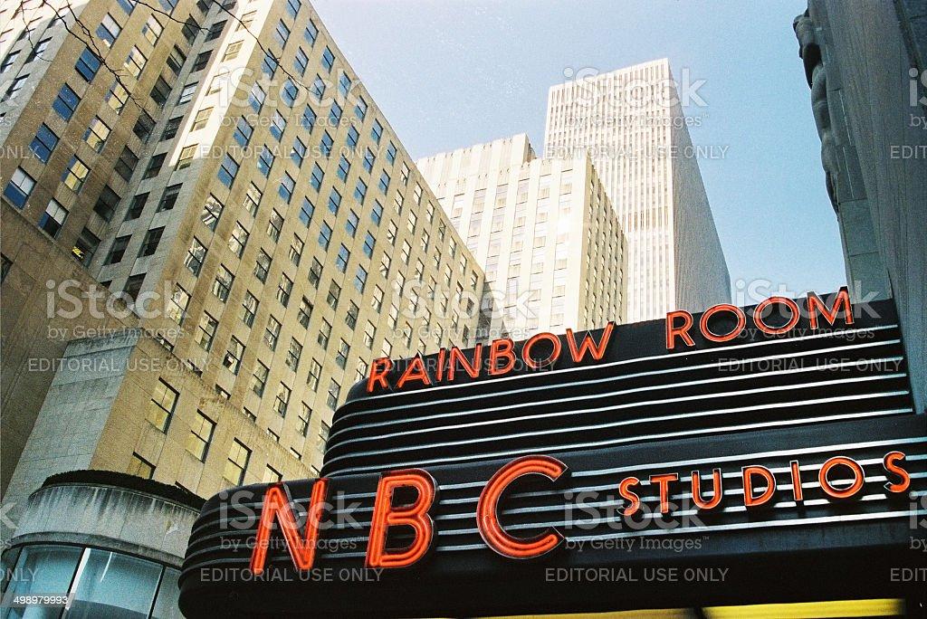 NBC Studios, New York City, USA stock photo