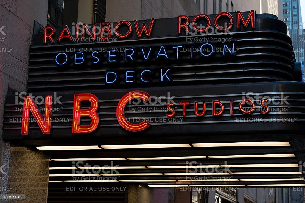 NBC Studios stock photo