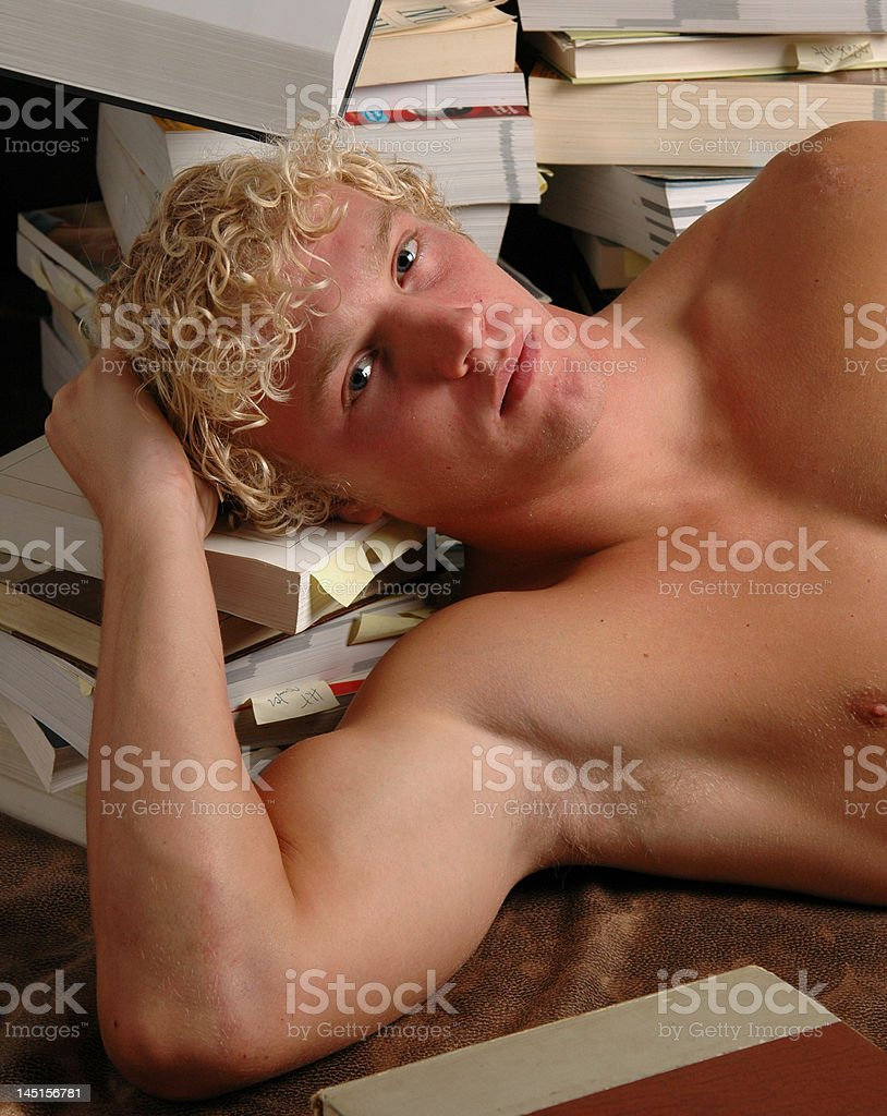 Study Hour royalty-free stock photo