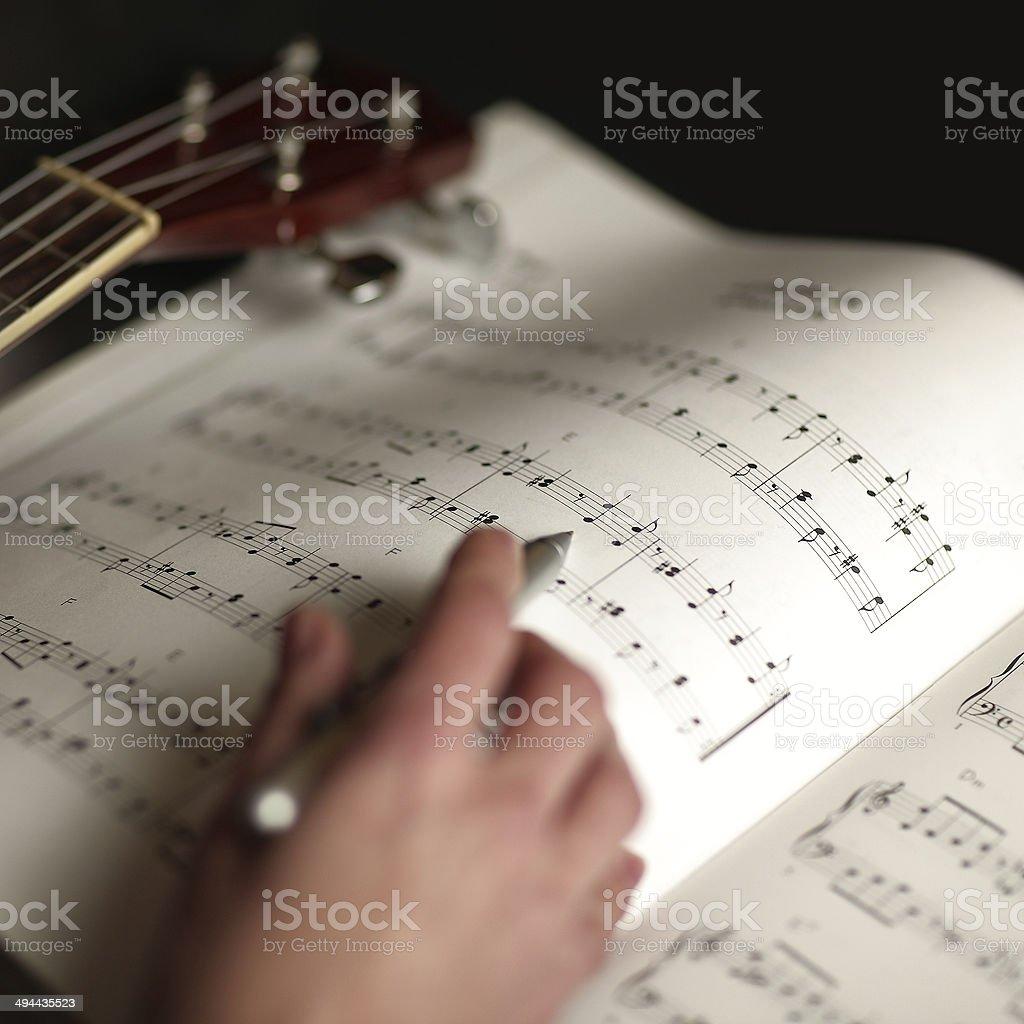 study music stock photo