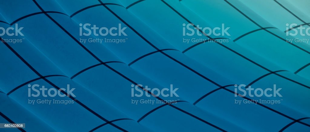 Study of Patterns and Vibrant blue royalty-free stock photo