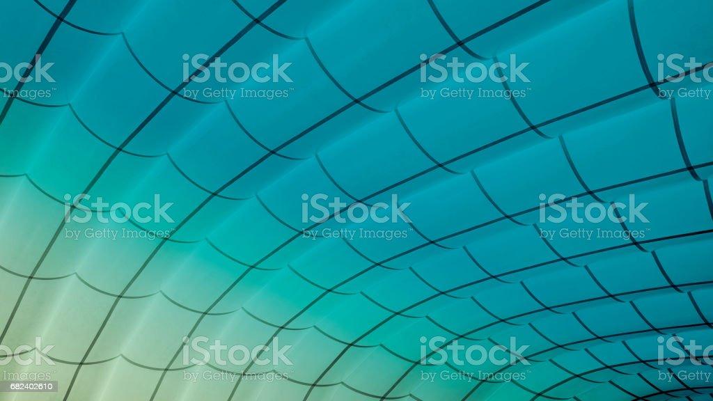 Study of Patterns and Vibrant blue photo libre de droits