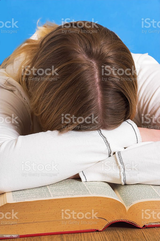 Study or not royalty-free stock photo