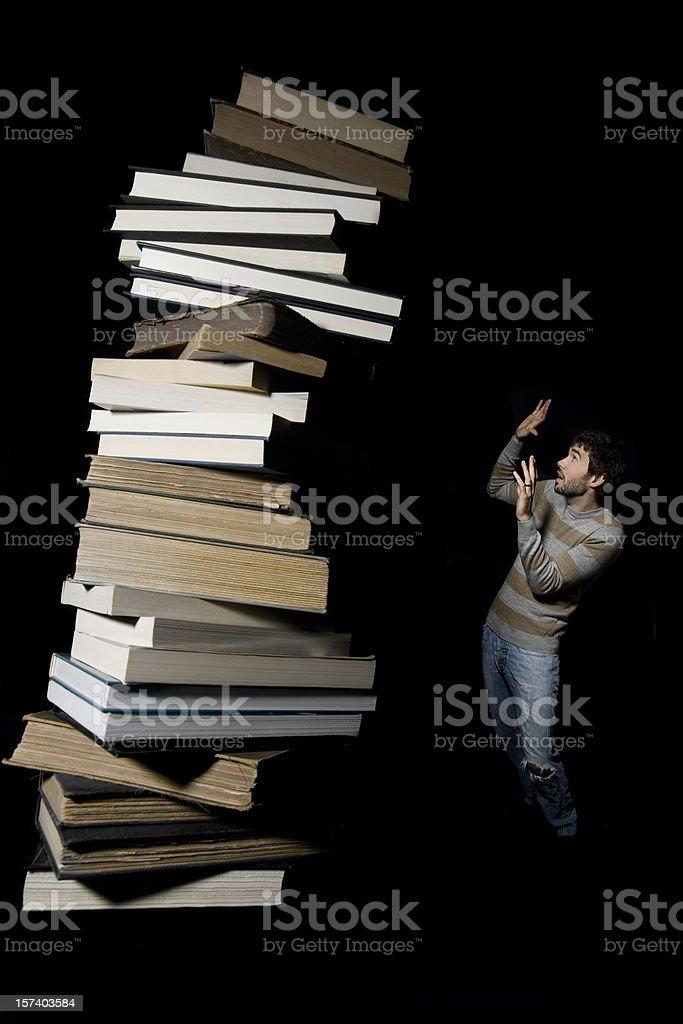 Study Overload stock photo
