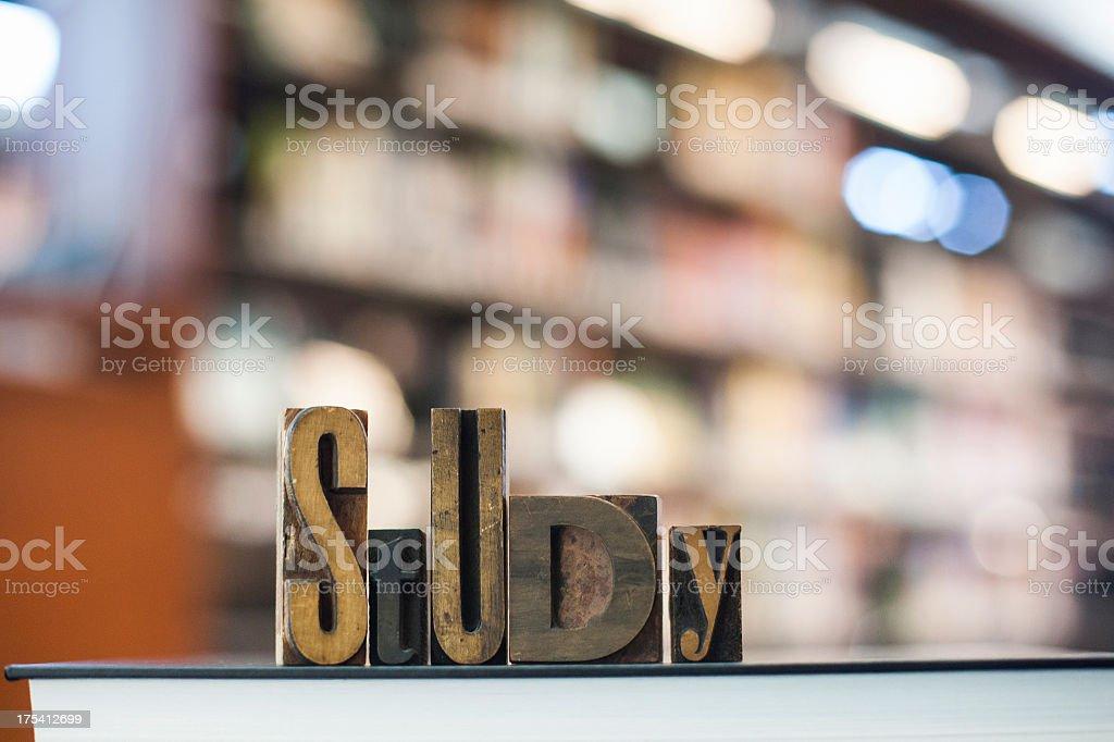 Study royalty-free stock photo