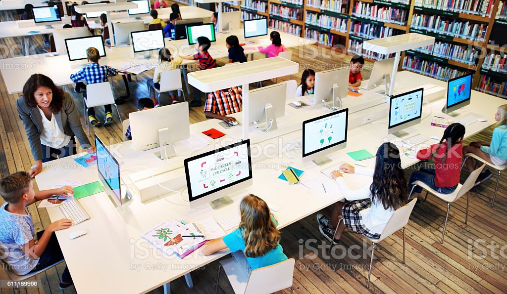 Study Studying Learn Learning Classroom Internet Concept Study Studying Learn Learning Classroom Internet Concept Baby - Human Age Stock Photo
