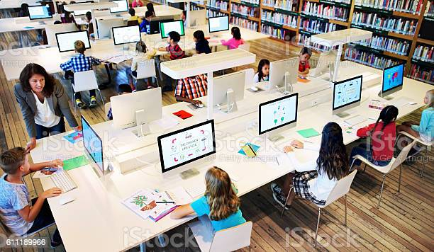 Study Studying Learn Learning Classroom Internet Concept Stock Photo - Download Image Now
