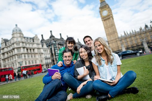 istock Studying abroad in London 488157695