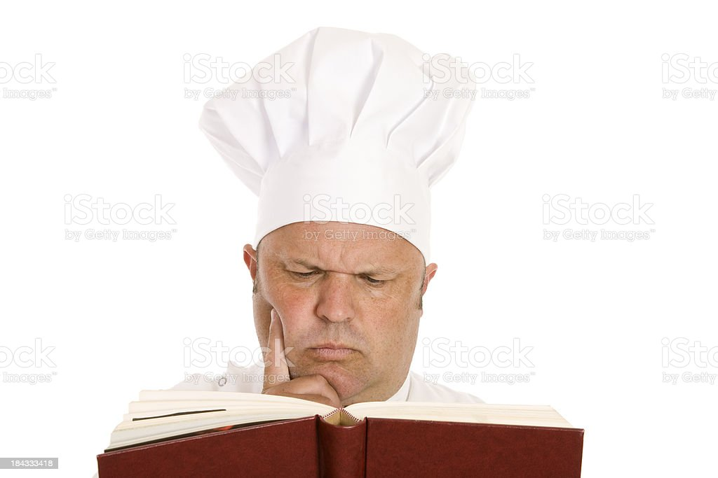 Lernen Cook Book Lizenzfreies stock-foto