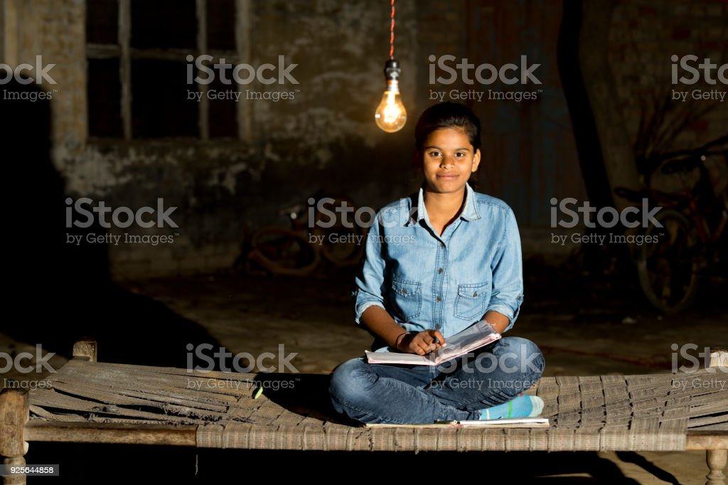 Studying for a bright future stock photo