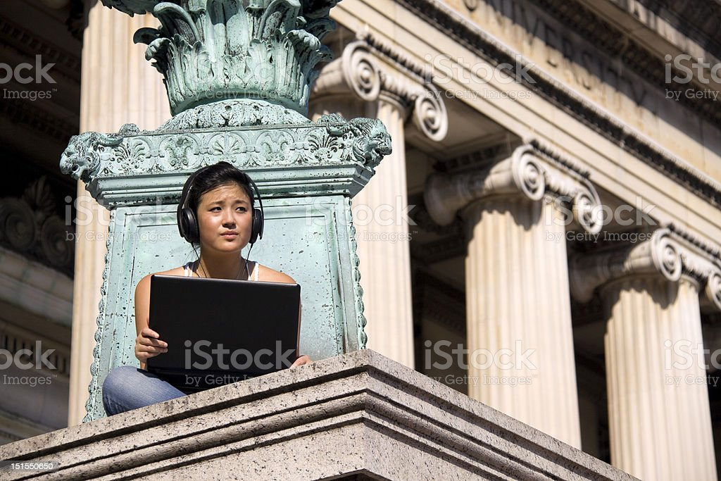Studying for the Next Test royalty-free stock photo