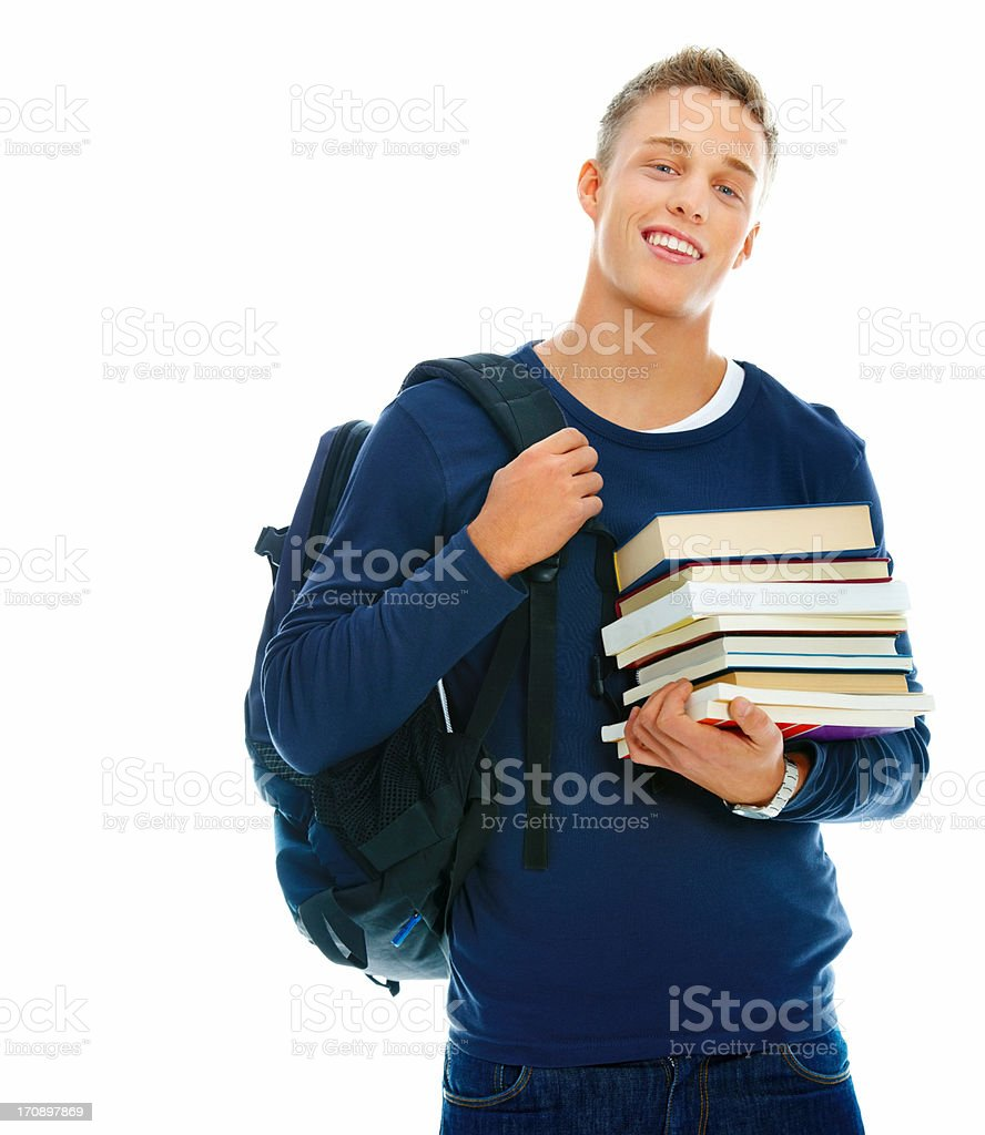 Studying hard for a bright future royalty-free stock photo