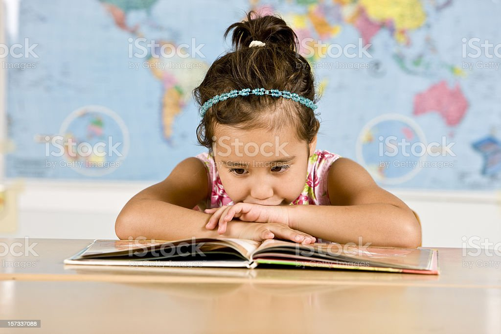 Studying hard royalty-free stock photo
