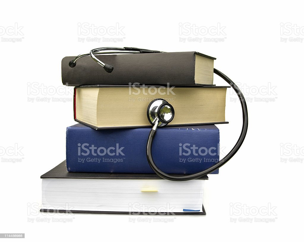 studying medicine royalty-free stock photo