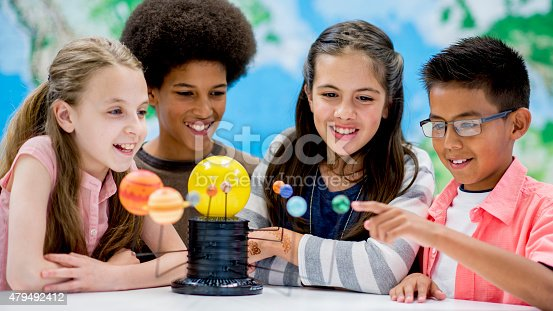 istock Studying our Solar System 479492412