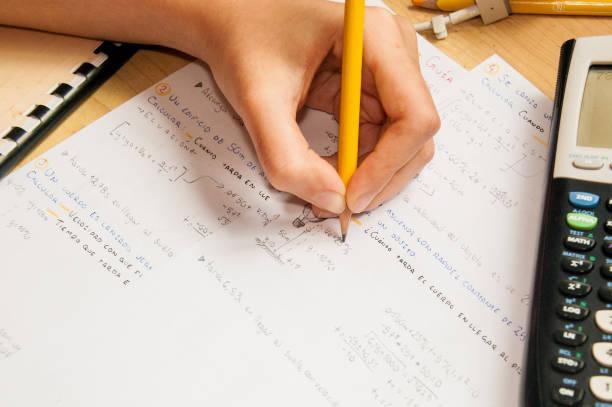 물리학 공부 - 물리학 공부 - estudiante 뉴스 사진 이미지