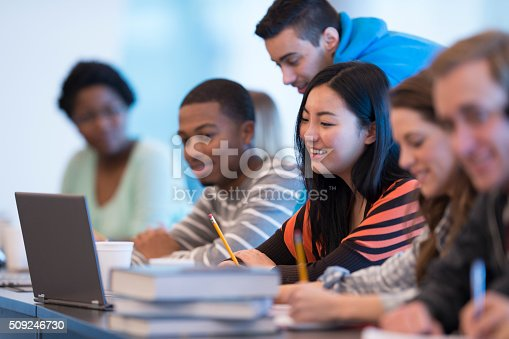 istock Studying Together in Class 509246730