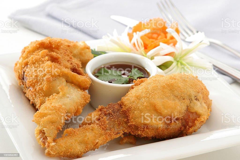 Stuff Chicken Wings royalty-free stock photo