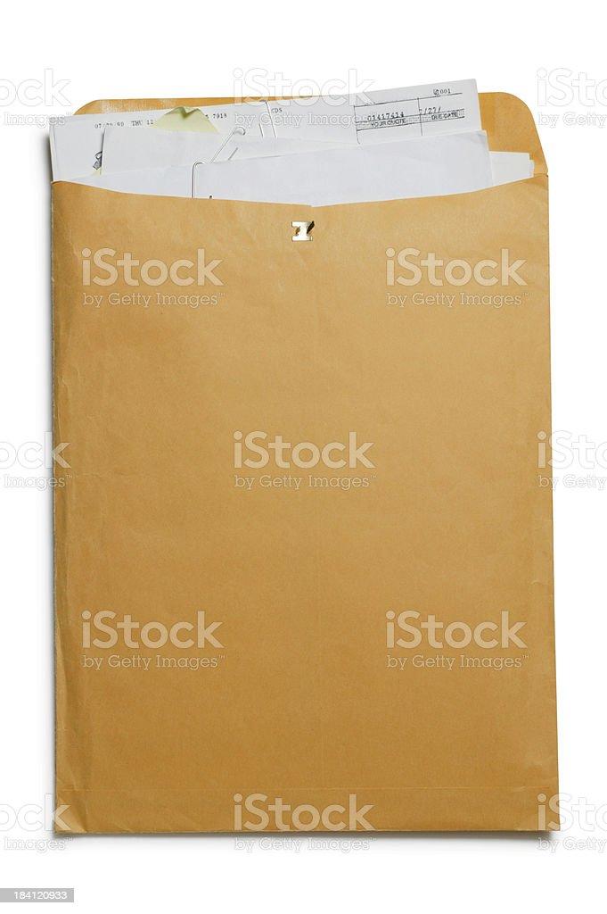 Stuffed Envelope royalty-free stock photo