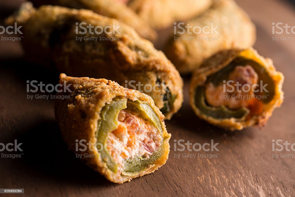 Stuffed Jalapeno stock photo