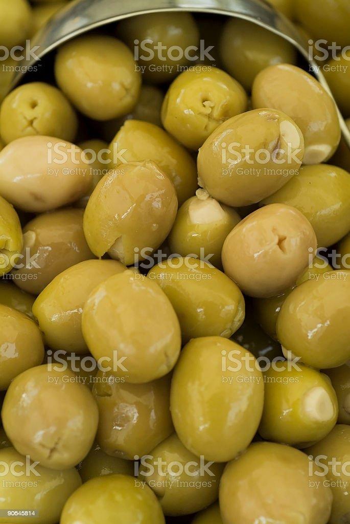Stuffed olives royalty-free stock photo