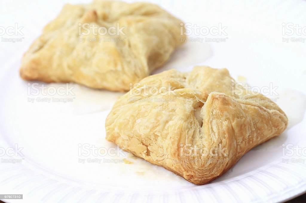 Stuffed Puff Pastries royalty-free stock photo