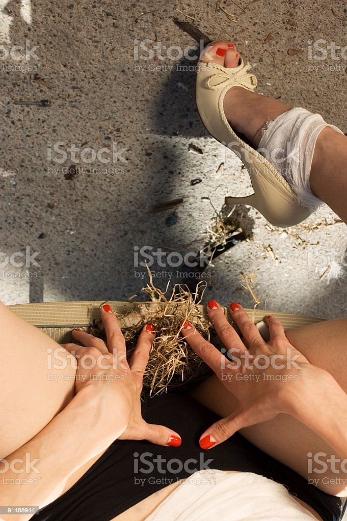 stuffing royalty-free stock photo