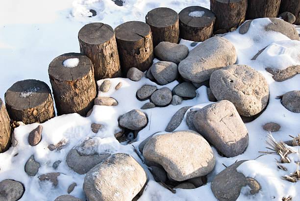 Tor, Felsen und Schnee – Foto