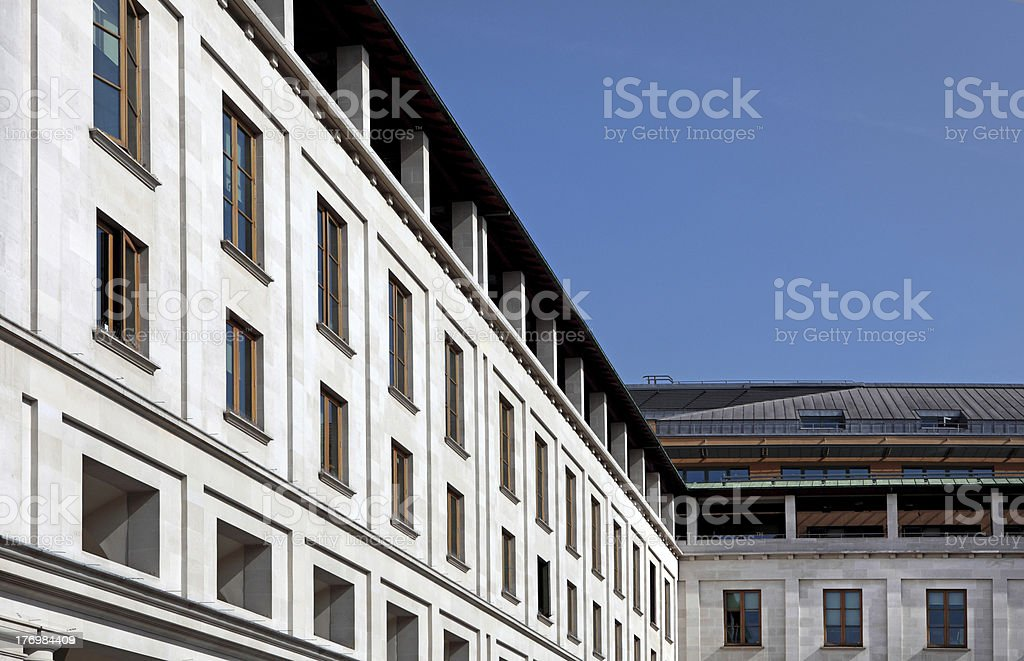 Stunning Architecture in Covent Garden London royalty-free stock photo