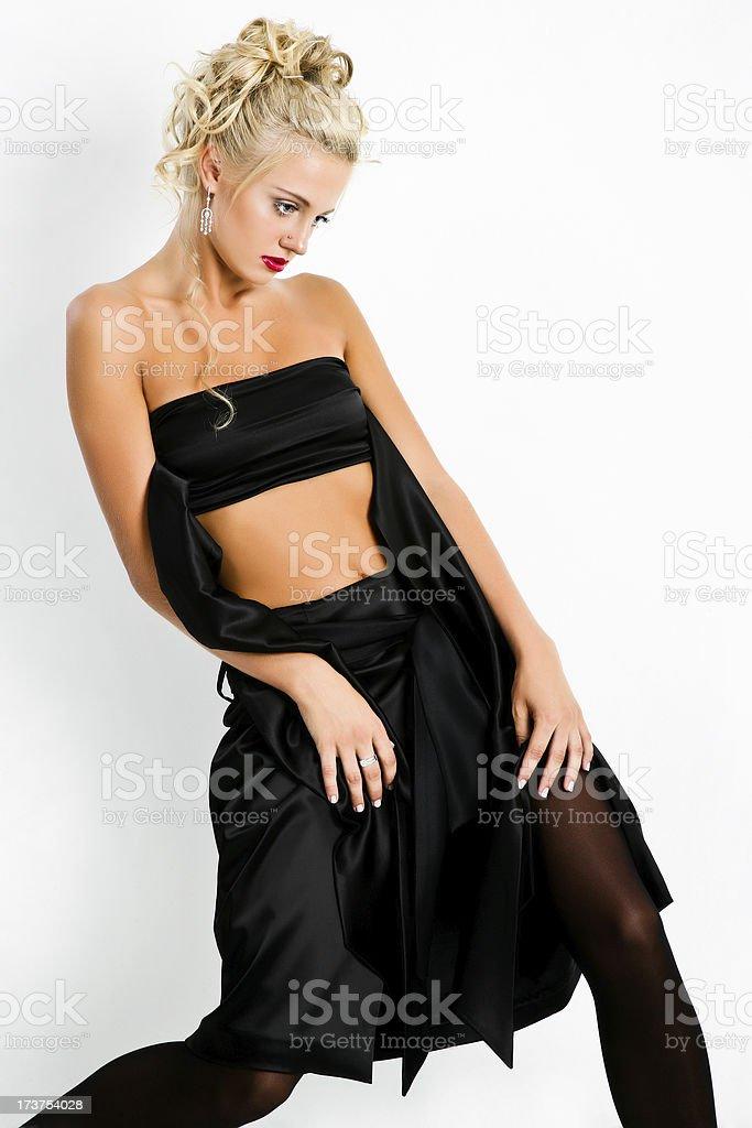 Stunning Blonde royalty-free stock photo