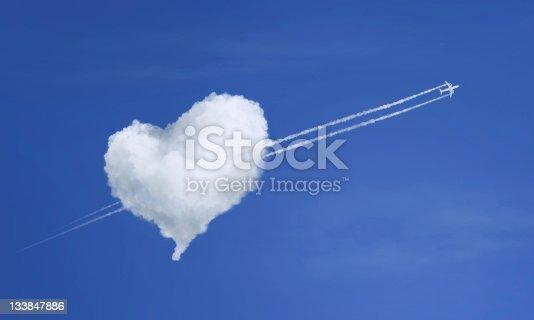 istock A stunning cloud love heart concept 133847886