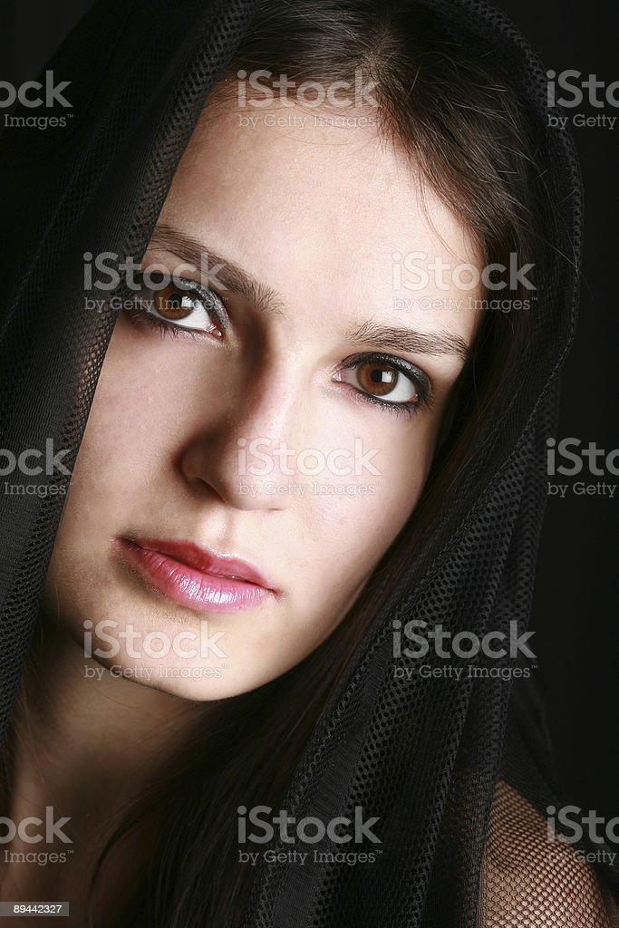 Magnifique visage photo libre de droits
