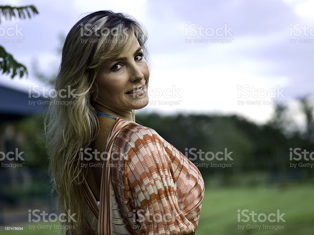 Stunning forties royalty-free stock photo