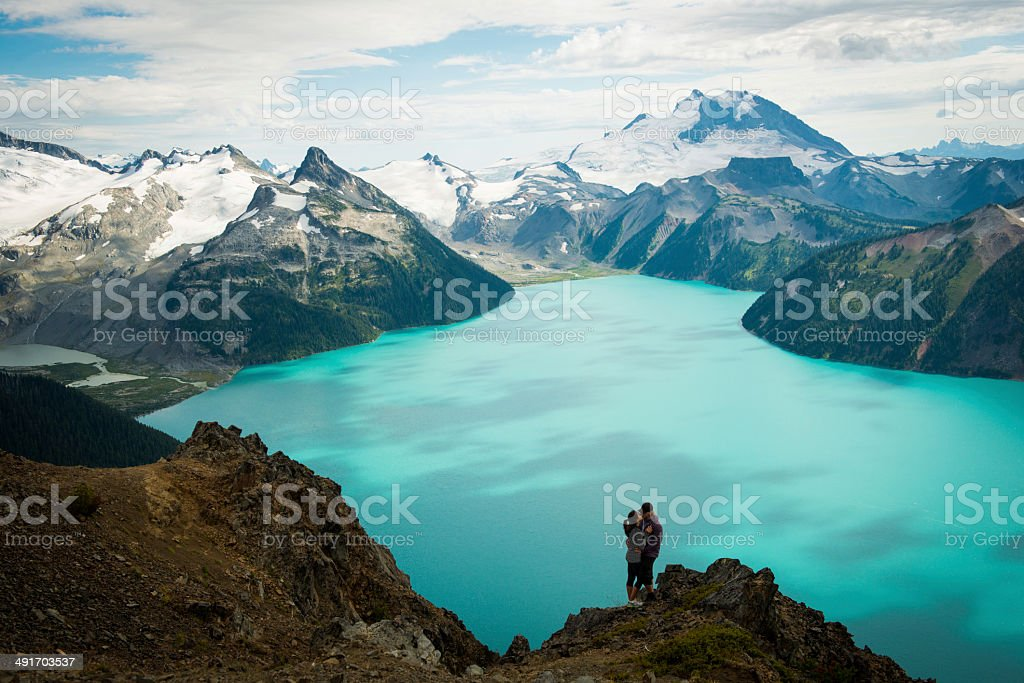 Stunning Hike royalty-free stock photo