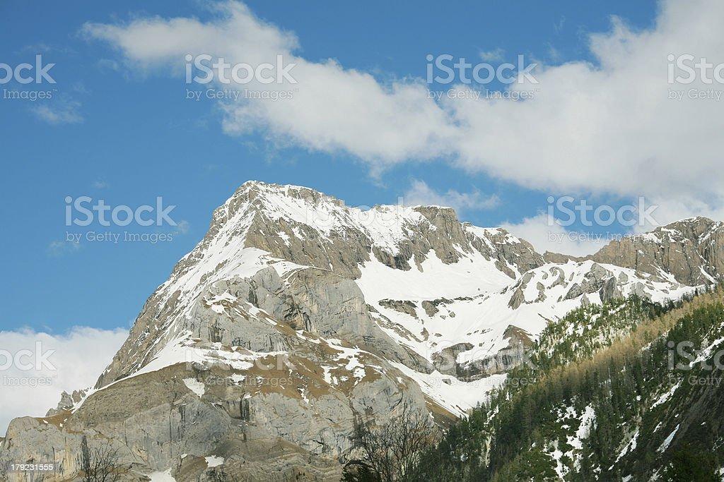 Stunning Mountain landscape stock photo