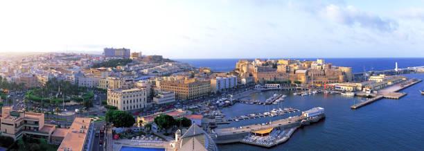Stunning Panoramic view of Melilla. stock photo
