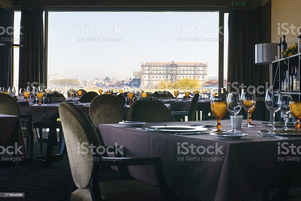 Stunning panoramic view stock photo